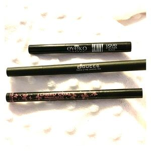 Other - Lot of Liquid Eyeliners. 3 total. Never used.